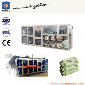 Wet Wipe Sealing Machine with Wet Tissue Packing Machine