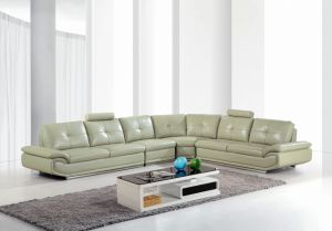 Living Room Genuine Leather Sofa (SBO-9139) pictures & photos