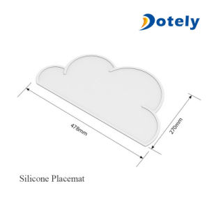 Baby Cloud Silicone Mat Non Slip and Washable Kids Placemat pictures & photos