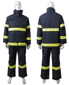 100% Cotton Proban Flame Retardant Safety Coverall with Reflective Tape pictures & photos