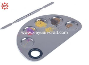Custom Metal Colour Makeup Palette pictures & photos