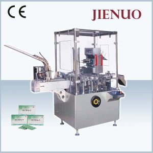 Automatic Vertical Folding Carton Packing Machine for Blister and Strip Packs pictures & photos