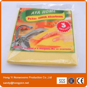 Needle Punched Professional Nonwoven Fabric Cleaning Cloth, All Purpose Cleaning Cloth