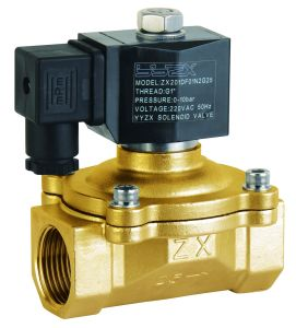 SZX20-20 3/4inch 2/2way Normally Closed Direct Acting SUS304 Solenoid Vlave pictures & photos