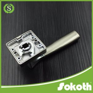 Chrome Square Door Handles with Fancy Design pictures & photos