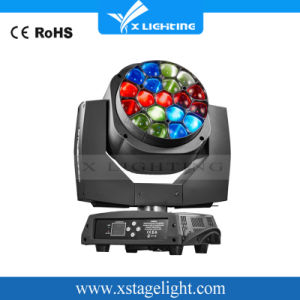 Roating 19X15W LED Bee Eyes Moving Head Zoom Wash Light pictures & photos