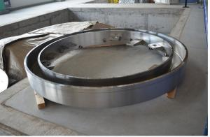 Stainless Steel Machining Turning Machined Turned Drilling High Precision Gas Steam Turbine End Rings pictures & photos