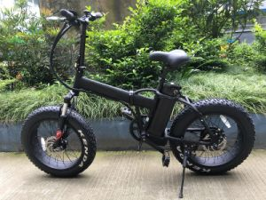 20*4.0 Fat Tire Electric Bike Foldable Bicycle with Ce pictures & photos