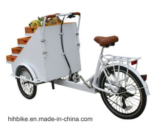 Hot Sale OEM Cargo Tricycle Bike with Power Assist Option pictures & photos