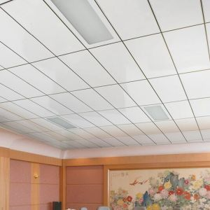 Aluminum Lay-in Suspended Ceiling with Acoustic Performance pictures & photos