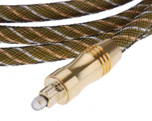 1m Digital Optical Fiber Audio Cable Od6.0mm Od60-E pictures & photos