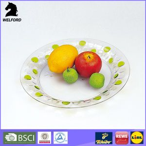 BPA Free Wholesale Hot Sale Transparent Plate