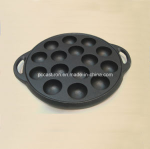Preseaseoned Cast Iron Cake Pan Mold Supplier From China pictures & photos