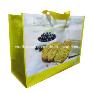 PP Woven Bag with Laminated for Shopping/Packaging Purpose