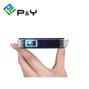 2016 Wholesale 1080P Android Smart Mini Projector, Handheld Pico Projector with WiFi pictures & photos