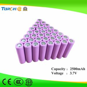 Hot Product Factory High Quality 3.7V 2500mAh Lithium 18650 Battery pictures & photos