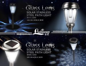 Solar Stainless Steel Path Light pictures & photos