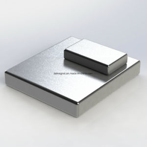 Sintered Permanent Rare Earth Cube NdFeB Magnets pictures & photos
