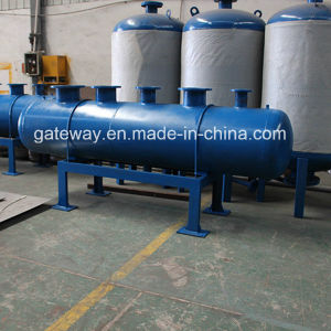 Carbon Steel Horizontal Water Tank with 800L