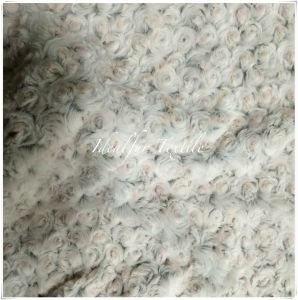 Super-Soft Rose PV Fur with Brush pictures & photos