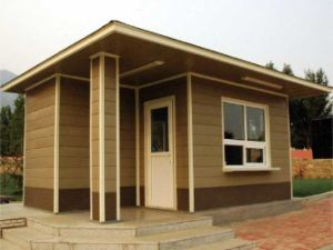 High Quality Wood Plastic Composite Outdoor House pictures & photos