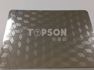 Cold Rolled Embossed Stainless Steel Sheet Color for Decoration pictures & photos