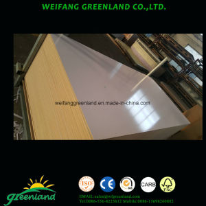 9mm High Glossy MDF White Wrting Board for School or Office pictures & photos