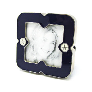 Wholesale Craft Gift Wedding  Gift Metal Photo Frame Hx-1845 pictures & photos