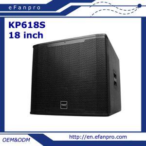 Popular Single 18 Inch Audio Equipment Professional Speaker Subwoofer (KP-618S) pictures & photos