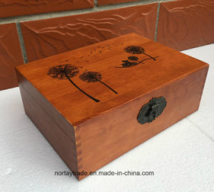 Fine Wood Box with Lock Wood Storage Box for Certificates Medal & Diploma pictures & photos