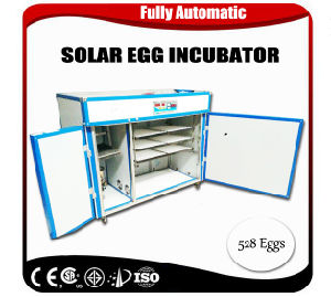 Solar Power Egg Incubator Machine Poultry 528 Chicken Eggs Incubator pictures & photos