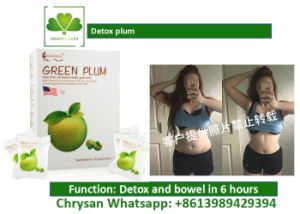 Advanced Detox and Cleanse Green Plum, Digestive Enzymes for Colon Health pictures & photos