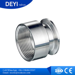 China Supply NPT Female Thread Clamp Adapter pictures & photos
