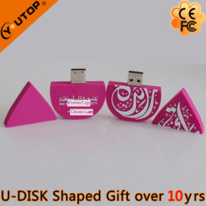 Company Gift Special Customerized Logo PVC USB Flash Memory (YT-6660) pictures & photos