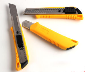 Plastic Handle Knife, Utility Knife pictures & photos