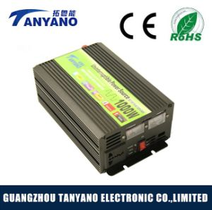 12V 220V DC to AC 1000W Power Inverter with Battery Charger pictures & photos