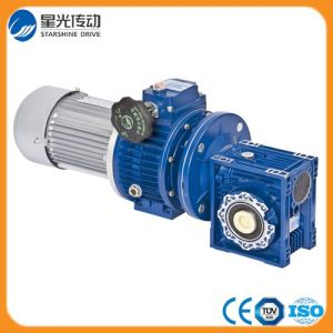 Mechanical Worm Gear Transmission Speed Variator Reducer pictures & photos