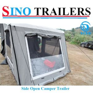 Stainless Steel Side Open Camper Trailer pictures & photos