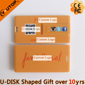 Hot Slide/Glide Rectangle Card USB as Free Gift (YT-3115) pictures & photos