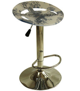 Acrylic Bar Stool, Ajusable Bar Chair for Night Club (LL-BC003) pictures & photos