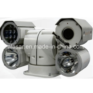 500m Night Vision Vehicle-Mounted HID Lamp +IR Night Vision Variable Speed PTZ Camera pictures & photos