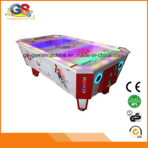Kids Coin Operated Ice Air Hockey Table Game Machine for Sale pictures & photos