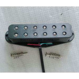 12 Pole Piece High Output Dual Coil Single Guitar Pickup pictures & photos