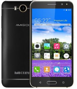 Original Smartphone Amigoo X18 3G 5.5 Inch WCDMA Smart Phone pictures & photos