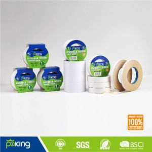Hot Melt Glue Double Sided Tissue Paper Tape with Various Sizes pictures & photos