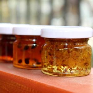 Clear 1oz Glass Honey Jars/Yogurt Glass Jar/Mini Glass Jar for Jam