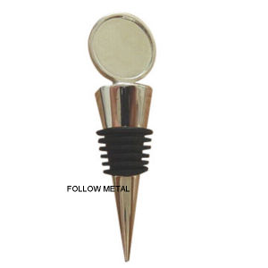 Bottle Stopper with Plastic Cement Wine Decoration, Gift