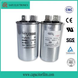 Cbb65 AC Motor Running and Starting Capacitor for Lighting pictures & photos
