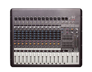 12 Channels High Quality Analog with Amplifier Audio Mixer (GTP-1650) pictures & photos