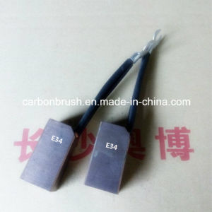 E34/E34T Carbon Brush Used in Iron & Steel and Metallurgy Application pictures & photos